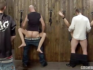 Ozeex cumshot mature group sex