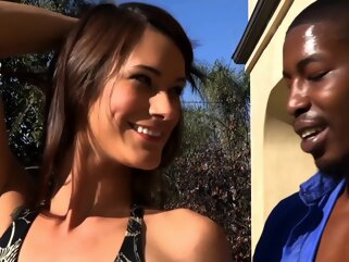 Ozeex brunette hd interracial